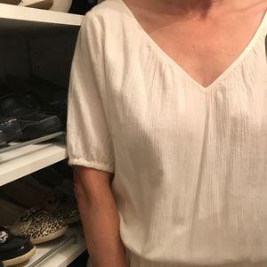 J.Crew gauze dress, like new, size medium
